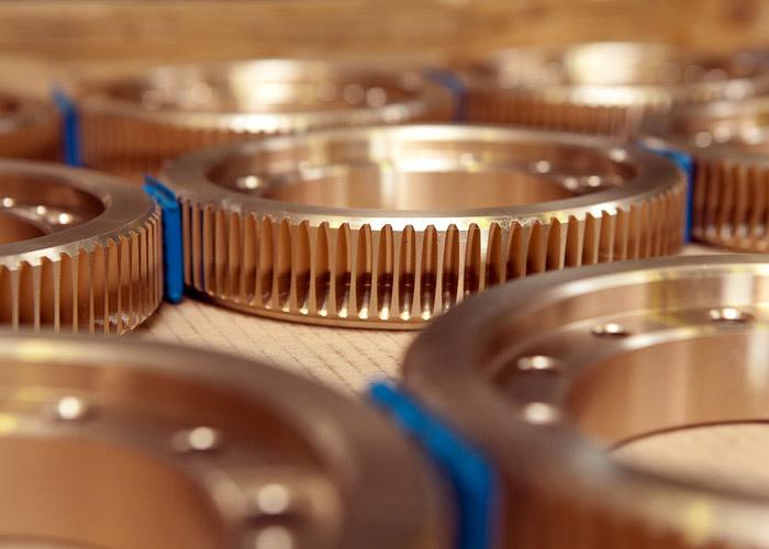 Zahnradfertigung OTT | Schneckenrad OTT-Schraubgetriebe