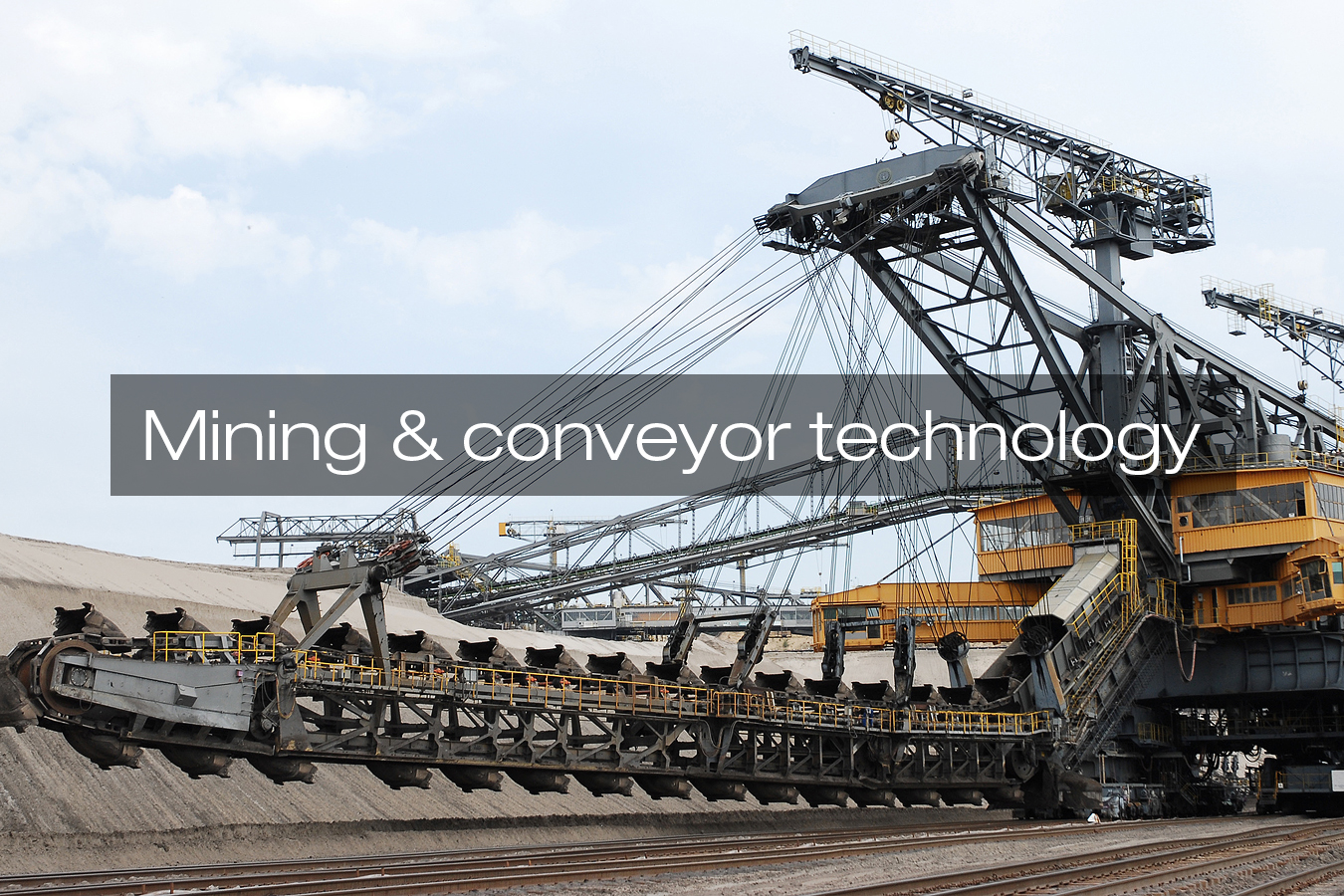 Zahnradfertigung OTT | Branche Bergbau / Fördertechnik