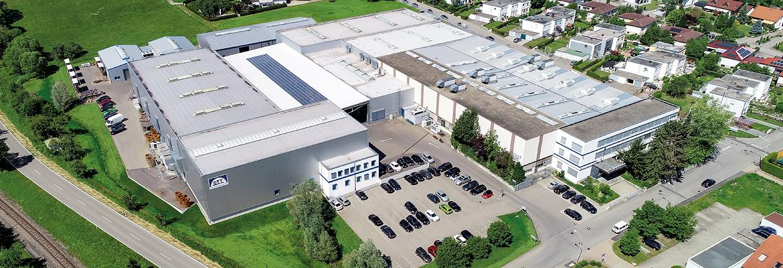Luftaufnahme Zahnradfertigung OTT GmbH & Co. KG